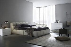 diseño minimalista dormitorio