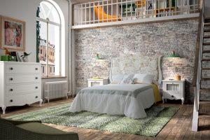 dormitorio contemporaneo blanco