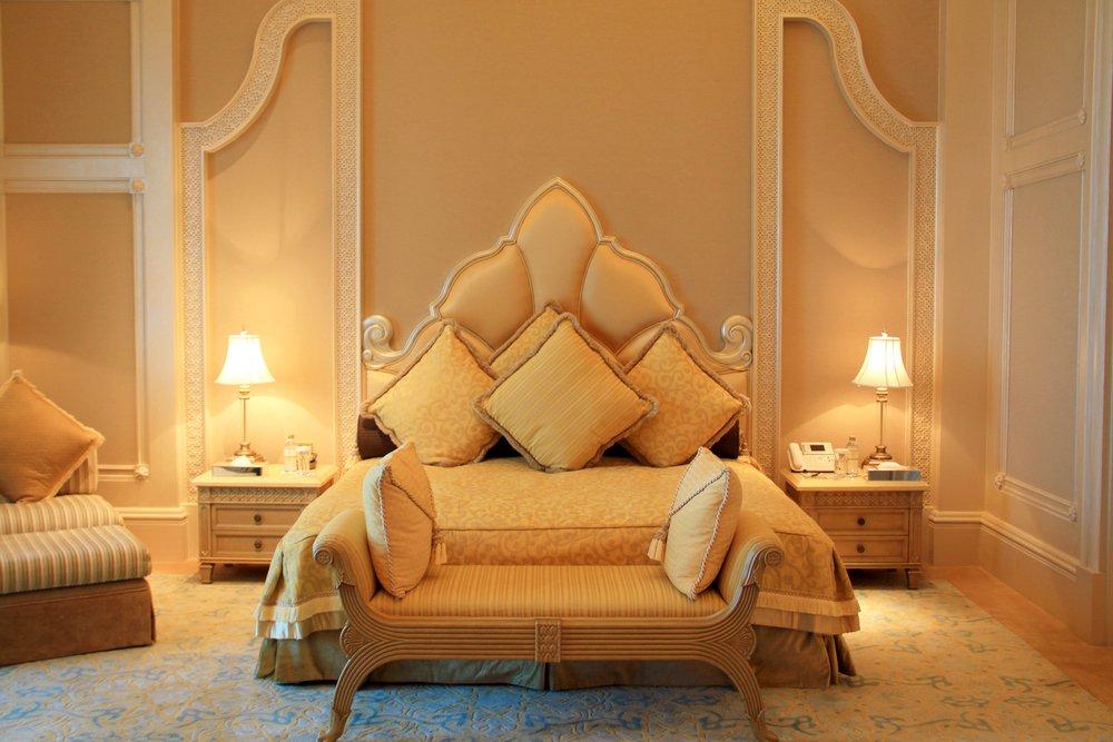 dormitorio estilo arabe