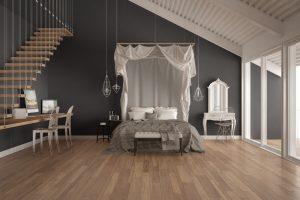 dormitorio estilo eclectico