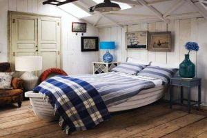 dormitorio estilo nautico