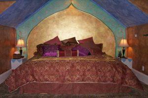 dormitorio matrimonio arabe