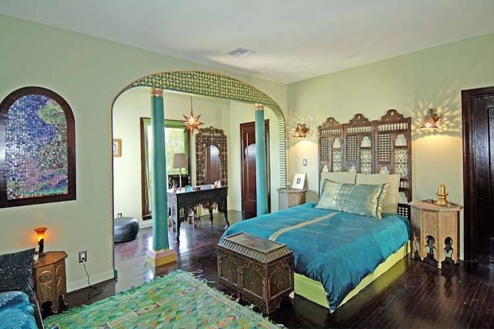 dormitorios arabes azules