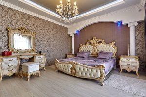 dormitorios clásicos blancos