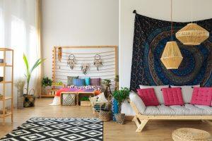 dormitorios estilo boho chic