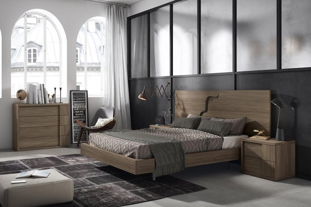 dormitorios juveniles de madera modernos