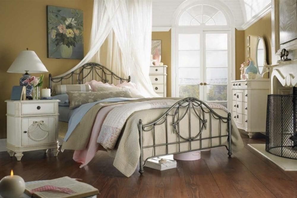 dormitorios juveniles estilo shabby chic