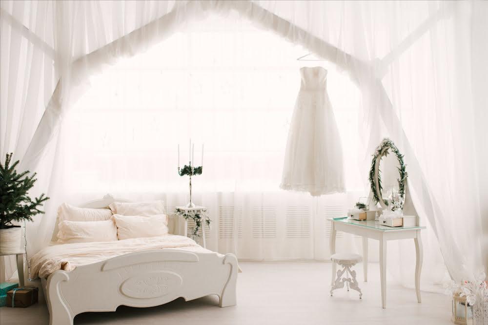 dormitorios romanticos en tonos pastel