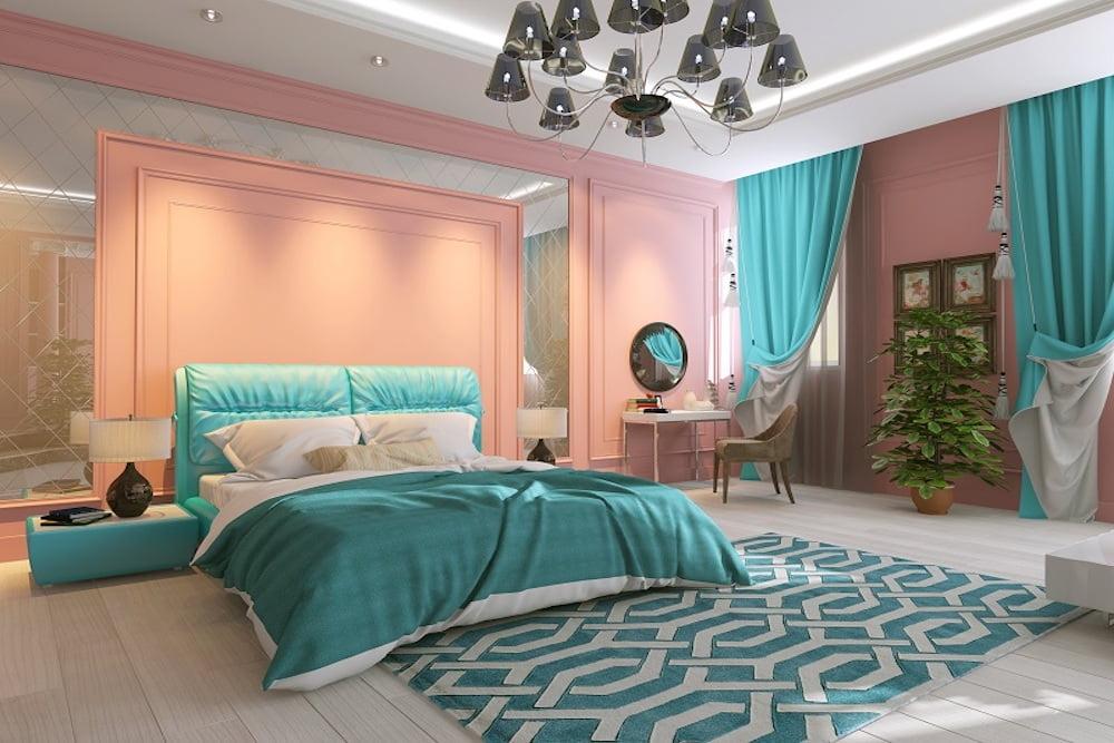 estilo boho chic dormitorio