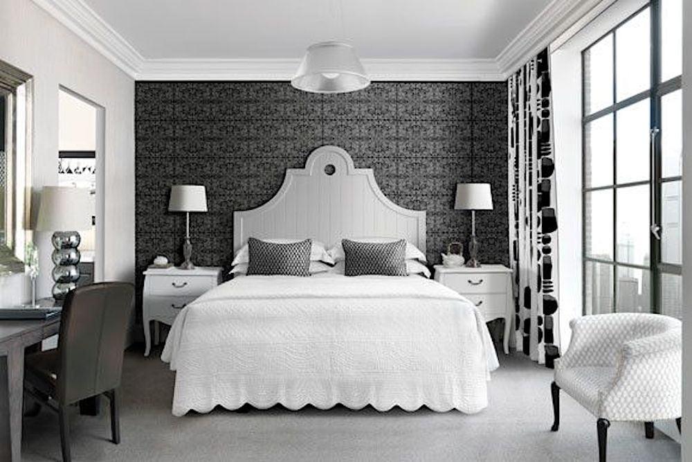 estilo eclectico dormitorio