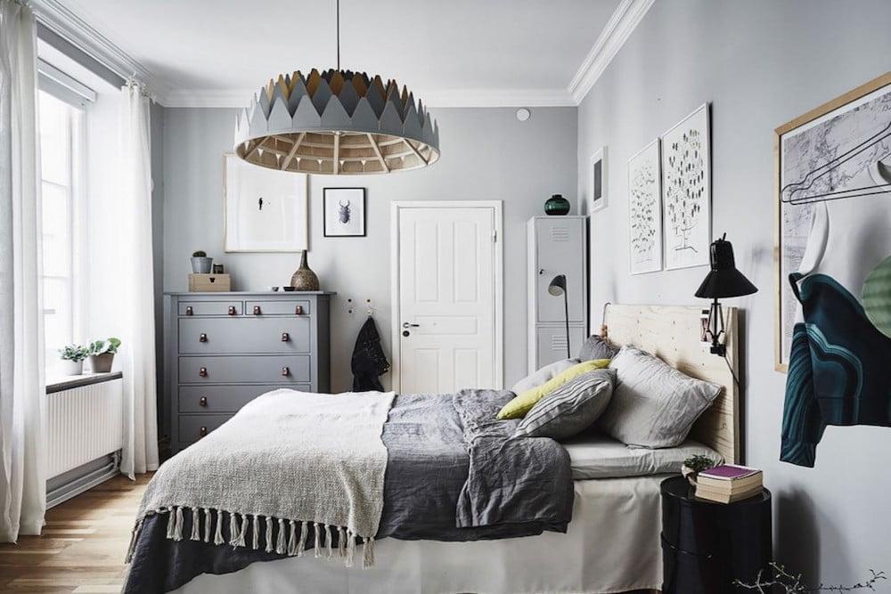 ideas para pintar la pared en gris