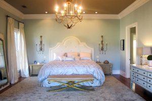 lamparas para dormitorios romanticos