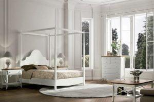 muebles de dormitorio estilo romantico