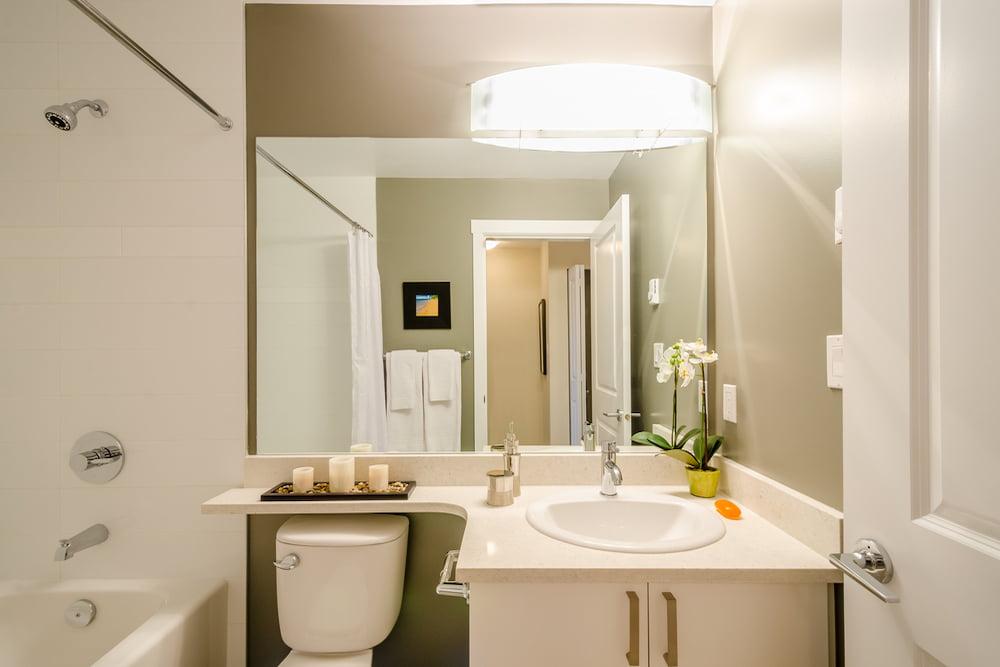 Colores perfectos para baños pequeños