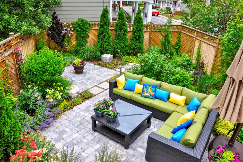 Decorar jardines