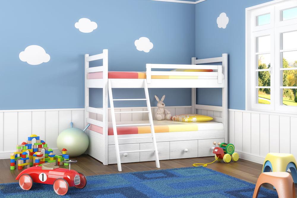 Decorar una habitación pequeña para niños