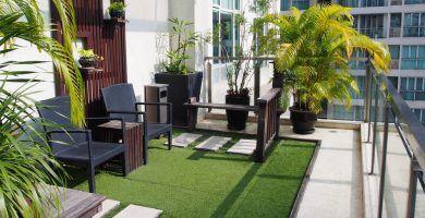Colores perfectos para pintar la terraza