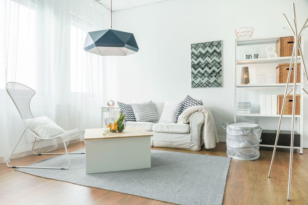 Salon estilo minimalista